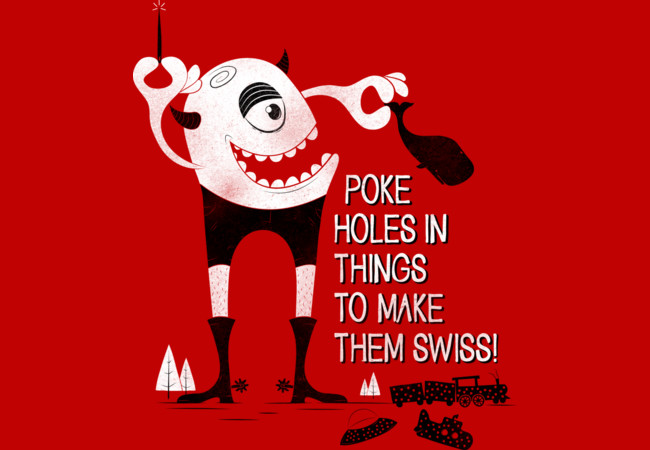 SWISS HAPPENS!  Artwork