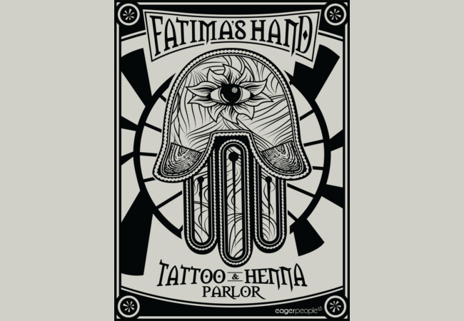Fatima's Hand Tattoo & Henna Parlor  Artwork