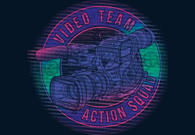 Video Team Action Squad  Artwork