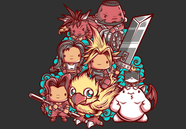 Cute Fantasy VII  Artwork