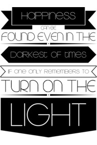 Turn on the light (Black)