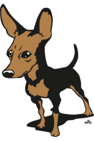 Miniature pinscher dog shirt