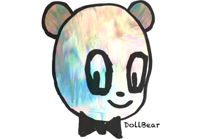Dark Circle Eyes DollBear  Artwork