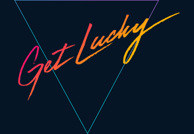 GET LUCKY  Artwork