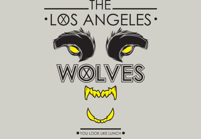 lOS ANGELES WOLVES  Artwork