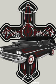 Hearse and Cross