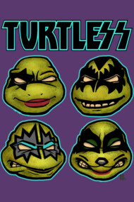 Rock and Roll All Nite Turtles