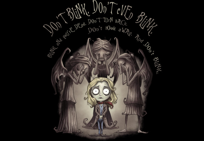 Don't Blink. Don't Even Blink.  Artwork