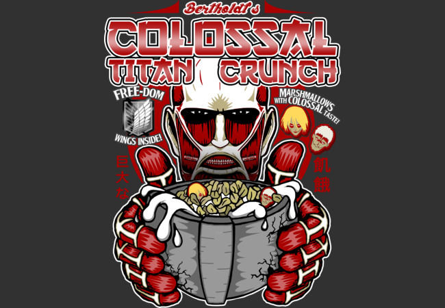 Colossal Titan Crunch  Artwork