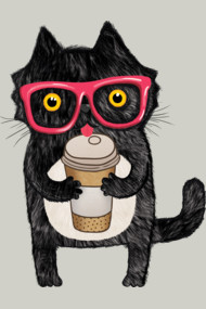 Black Coffee Cat