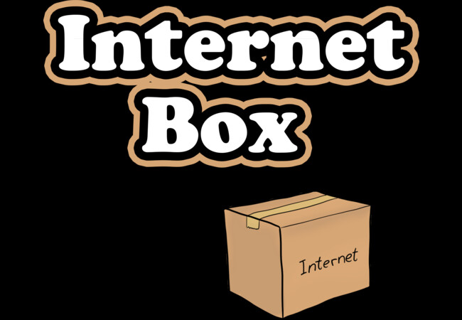 Internet Box  Artwork