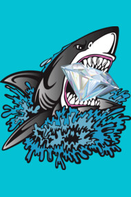 Shark Diamond Mouth