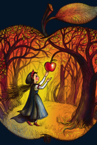 Autumn apple story