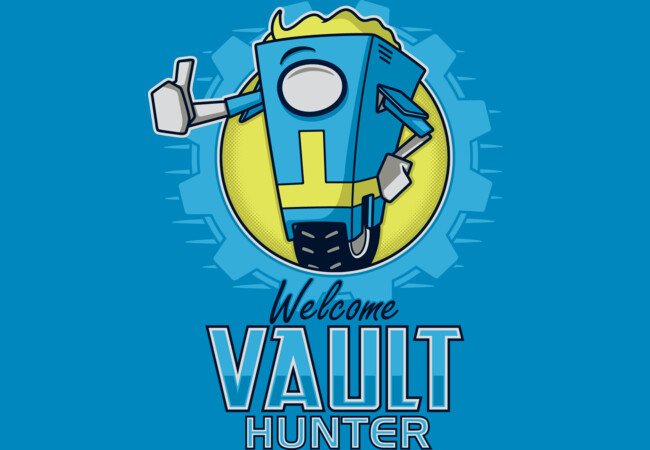 Welcome Vault Hunter  Artwork