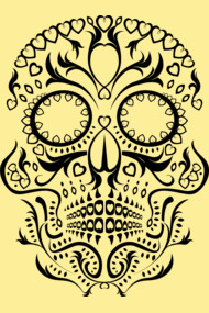 Day of the Dead Skull No1