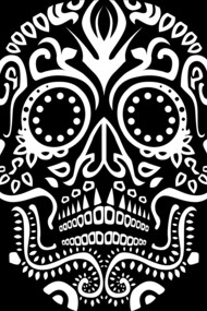 Day of the Dead Skull No3