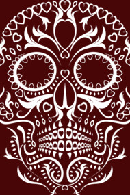 Day of the Dead Skull No8
