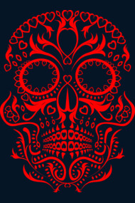Day of the Dead Skull No.20