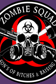 Biohazard Zombie Squad 3 Ring Patch outlined 2