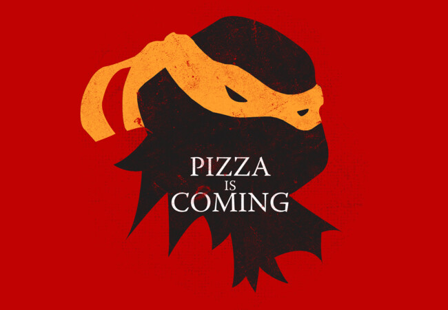 Pizza is Coming  Artwork