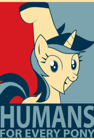 HUMANS for every pony