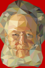 Henrik Ibsen (Low-Polygonal)