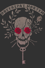 Skull with the Roses Eyes