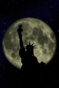 New York Liberty Moon