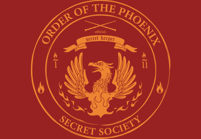 Order of the Phoenix - Secret Society  Artwork