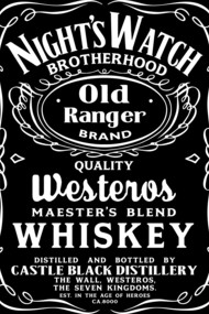Night's Watch Old Ranger Whiskey