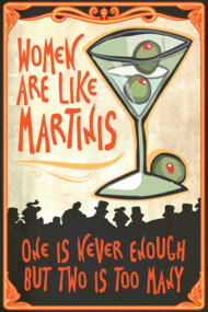 Women are like Martinis