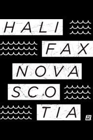 Halifax Nova Scotia Wave Tee