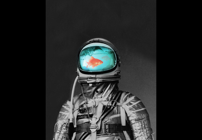 Underwater Astronaut  Artwork