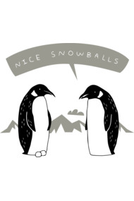 Penguin Snowballs
