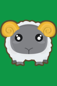 Kawaii sheep