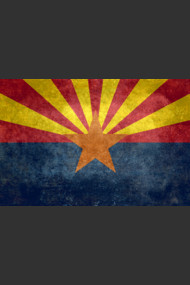 Arizona State flag, Vintage retro version