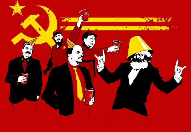 The Communist Party (original)  Artwork