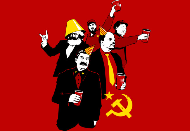 The Communist Party (variant)  Artwork