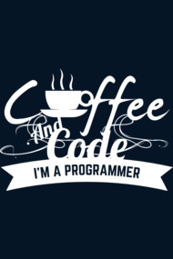 programmer : coffee and code. I am a programmer