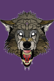 Tattoonimals Wolf