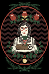 Yule Log Lady