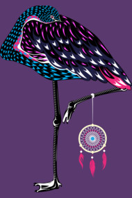 Flamingo Dreamcatcher