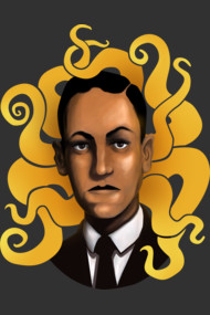 Portrait of Howard Phillips Lovecraft