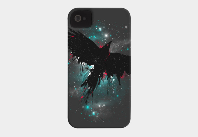Cosmic Flight Phone Case - Design By Humans