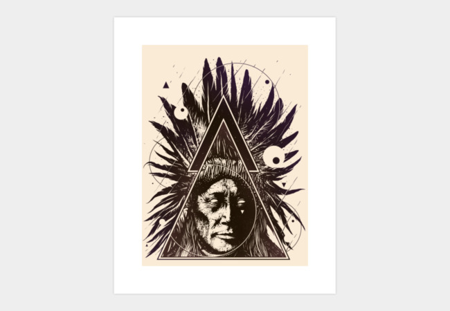 The Native Art Print - Design By Humans