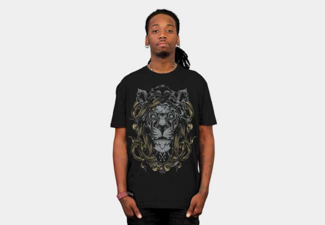 The Lion T-Shirt - Design By Humans