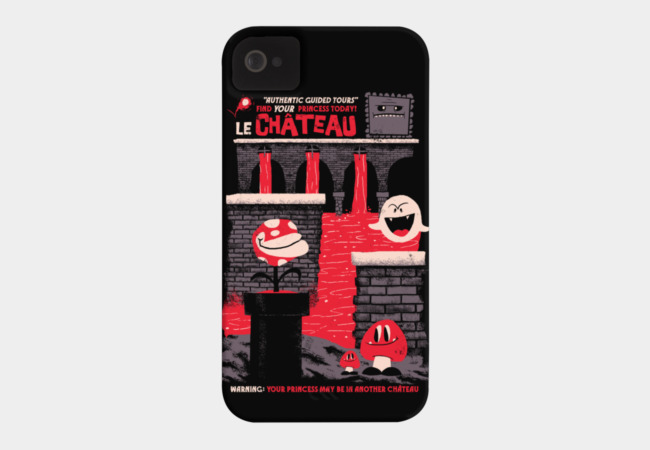 The Castle Phone Case - Design By Humans