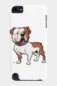 American Bulldog cartoon dog