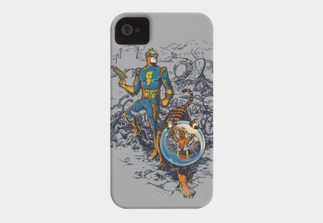 Calvin: The Spiffy Spaceman Phone Case - Design By Humans