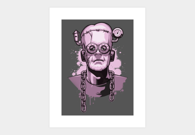 Frankenberry's Monster Art Print - Design By Humans
